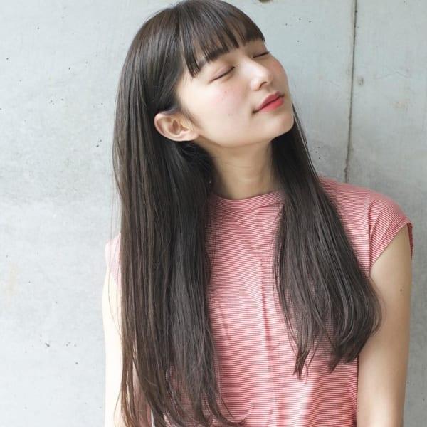 ぱっつんワイドバング2