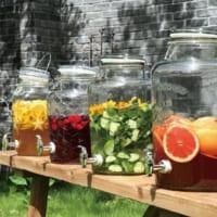 夏場の水分補給に♪おしゃれで飾りたくなるドリンクサーバー&使用方法