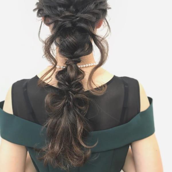 アップスタイル&まとめ髪8