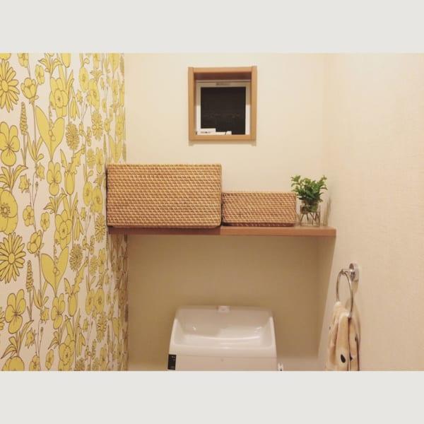 無印良品のアイテムでトイレ収納
