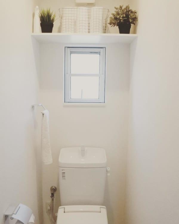 無印良品のアイテムでトイレ収納3