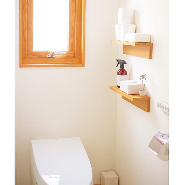 無印良品のアイテムでトイレ収納4