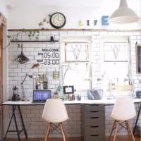 レンガ風壁紙を使ったアイデア50選☆リアルな質感の壁紙でお部屋をおしゃれに!