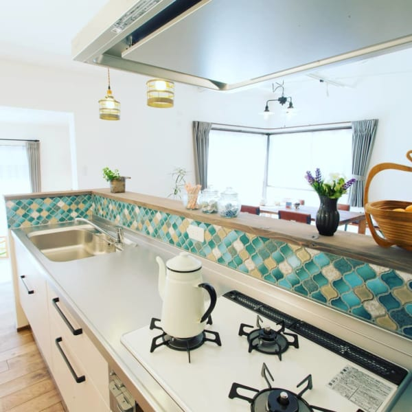 ステンレスキッチン 天板3
