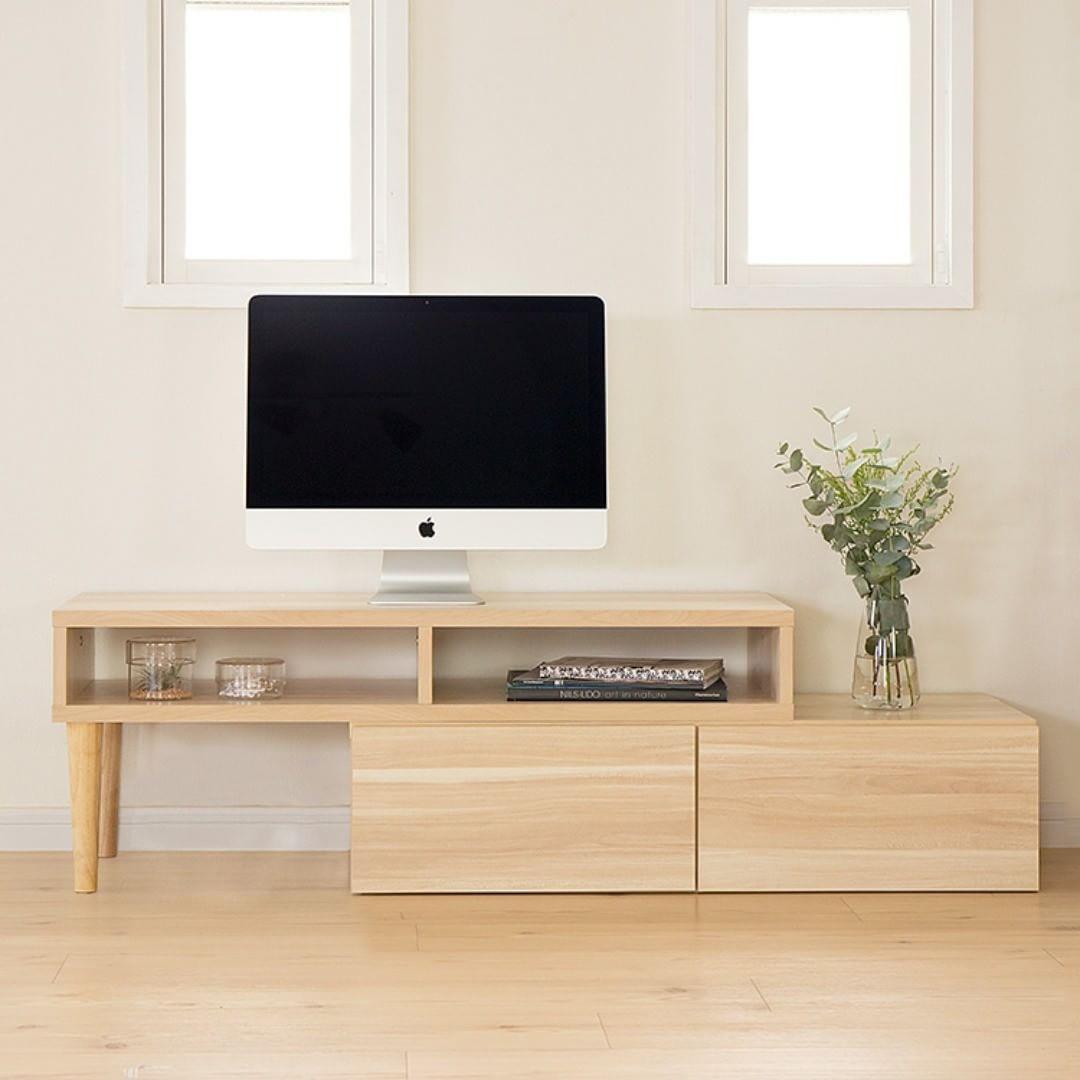 テレビボード 北欧インテリアの設置実例4