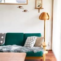 インテリアカラーに「グリーン」をプラス!生命力と落ち着いた雰囲気を漂わせる居心地の良いお部屋