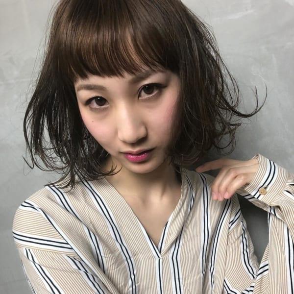 ぱっつんワイドバング13
