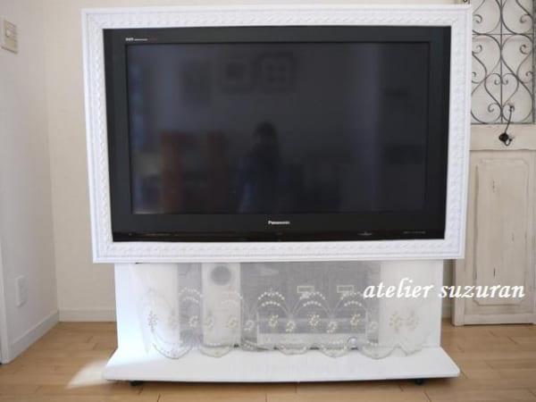 テレビボード DIY2