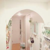 入った瞬間テンションがアップする♡100均素材でお家の玄関をステキにDIY!