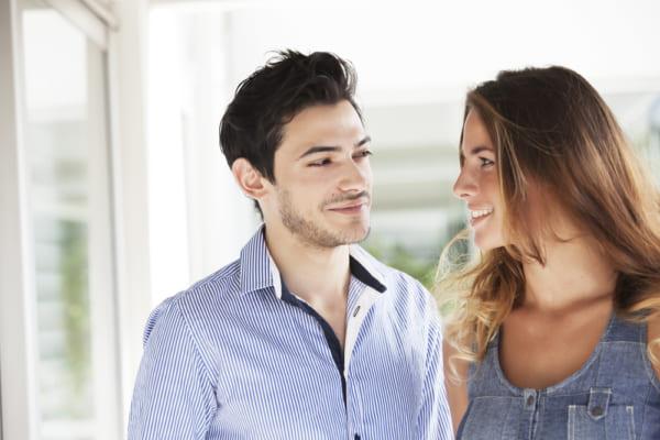 男性心理の特性と視線