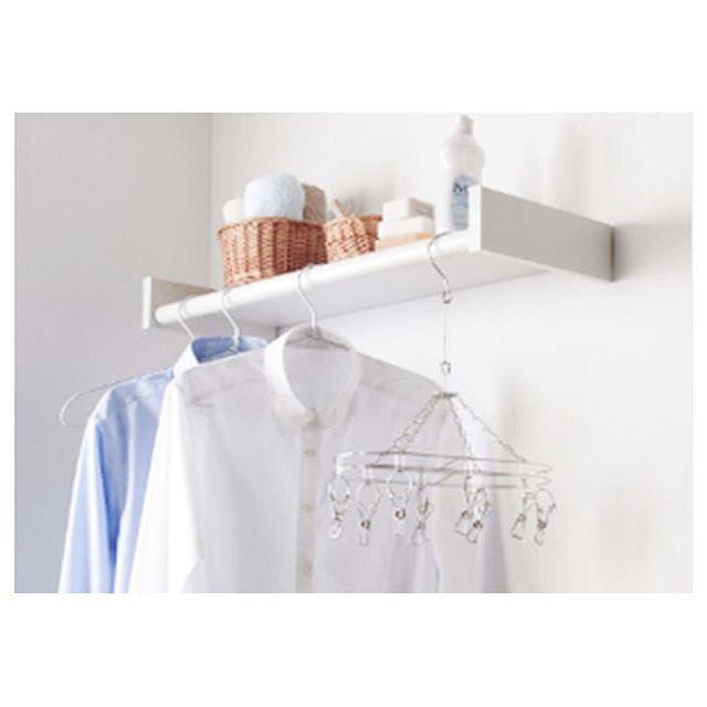 洗濯機上のラックアイデア実例集2