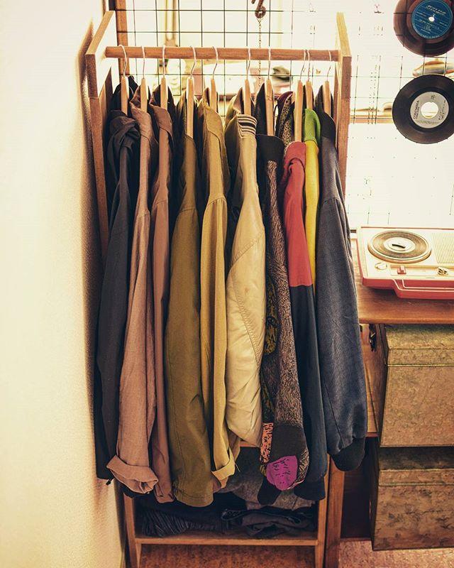 一人暮らしの衣類収納5