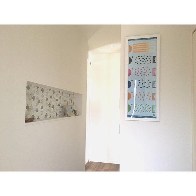 玄関のニッチ棚5