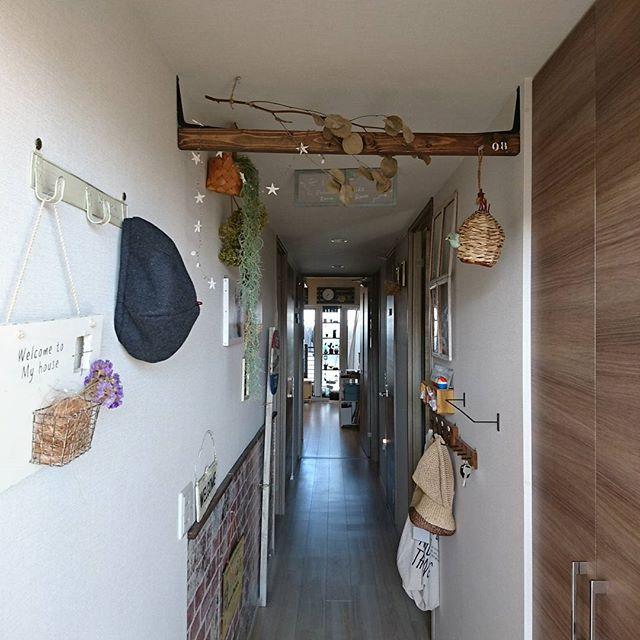 マンションの玄関インテリア4