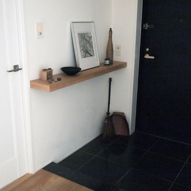 マンションの玄関インテリア5