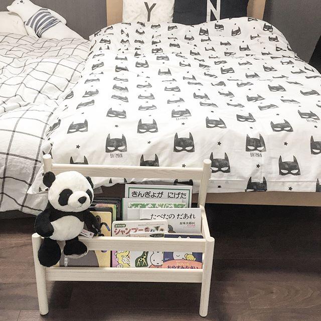 IKEAのアイテムを使用したおもちゃ収納49