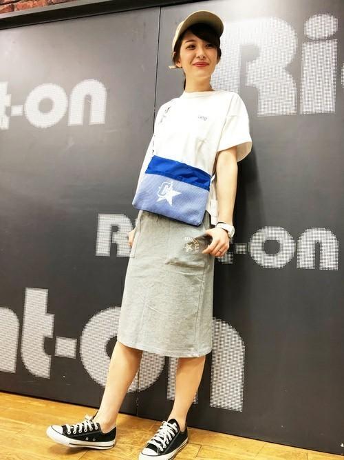 大人女子 フェスコーデ スカート2
