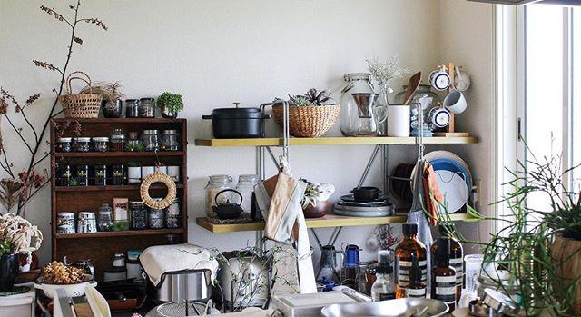 一人暮らし キッチン収納