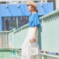 夏はブルー系トップスで清涼感を!爽やかな着こなしを楽しむ大人のコーディネート15選
