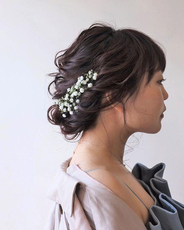 85d590b27c056 花嫁の髪型選びの参考に♡ドレス・和装・レングス・イメージ別にご紹介 ...