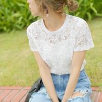 【白VS柄・色物】春夏のシャツ&ブラウスコーデ!それぞれの着こなしをご紹介します☆