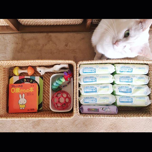 ベビー用品収納 ボックス・かご8