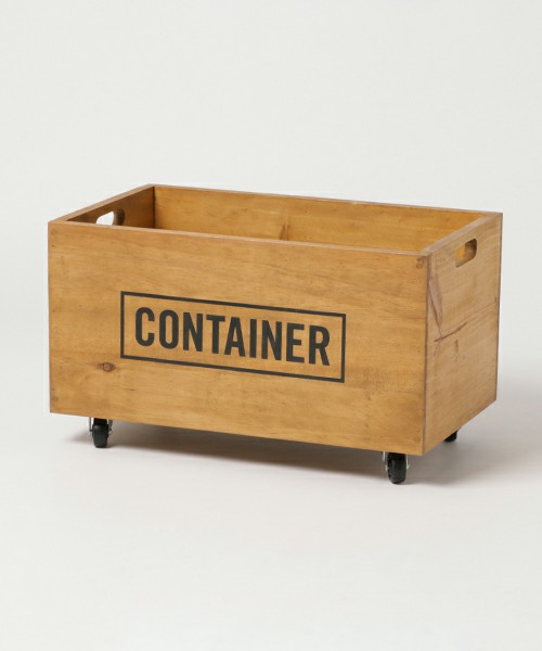 [GEORGE'S] ウッドボックス CONTAINER(コンテナボックス)
