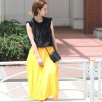 夏もトレンドのドット柄トップス☆パンツ&スカートスタイルで決める大人女子コーデ集