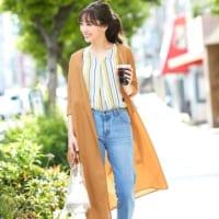 体型カバーや紫外線対策に☆「ロングカーディガン・ガウン」で作る夏コーデ
