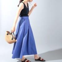 穿くだけでサマになる【ロングスカート】♡楽するおしゃれの方程式!