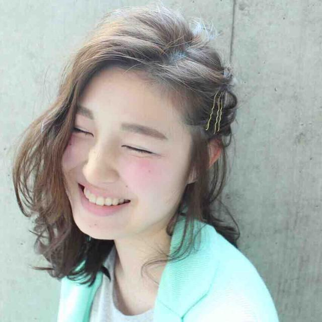 ミディアムのヘアアレンジ13