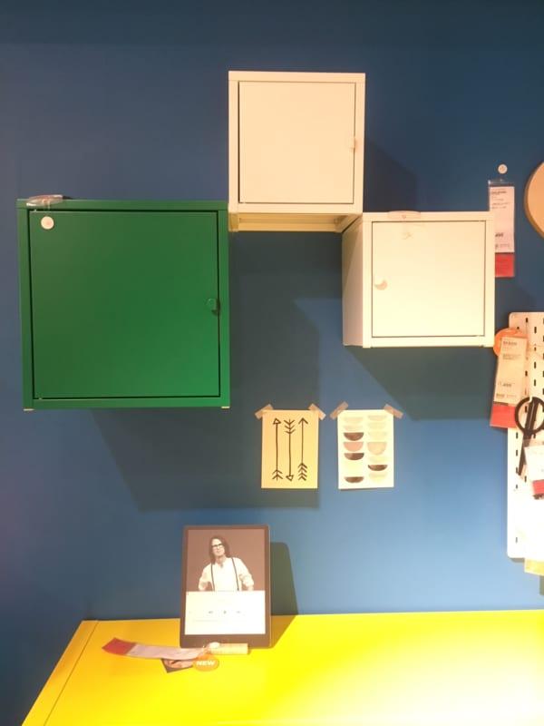 IKEAのアイテムを使用したおもちゃ収納