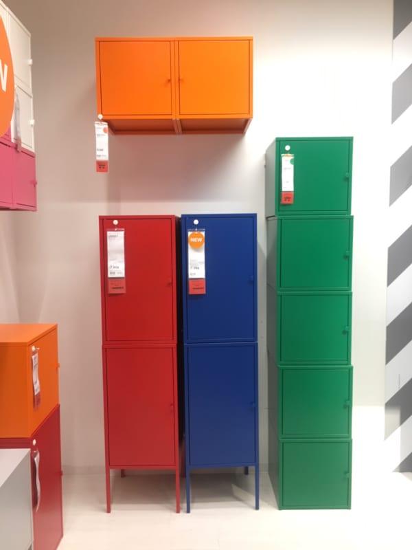 IKEAのアイテムを使用したおもちゃ収納2