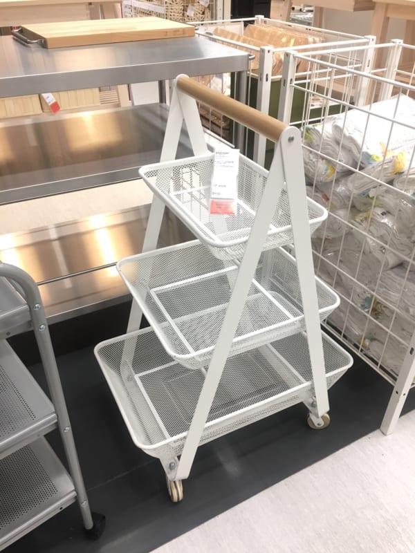IKEAのアイテムを使用したおもちゃ収納12