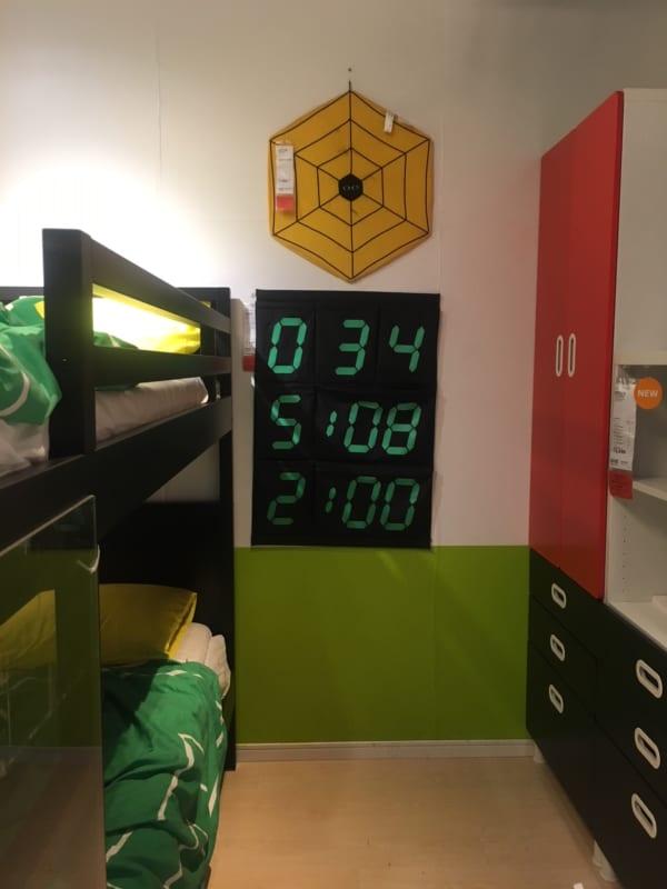 IKEAのアイテムを使用したおもちゃ収納5