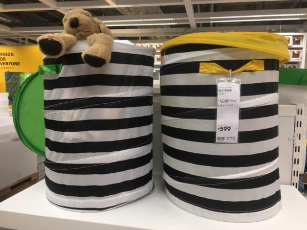 IKEAのアイテムを使用したおもちゃ収納4