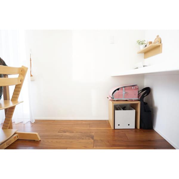 ランドセルの収納法 無印良品のコの字の家具とファイルボックス
