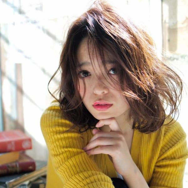 前髪アレンジ6