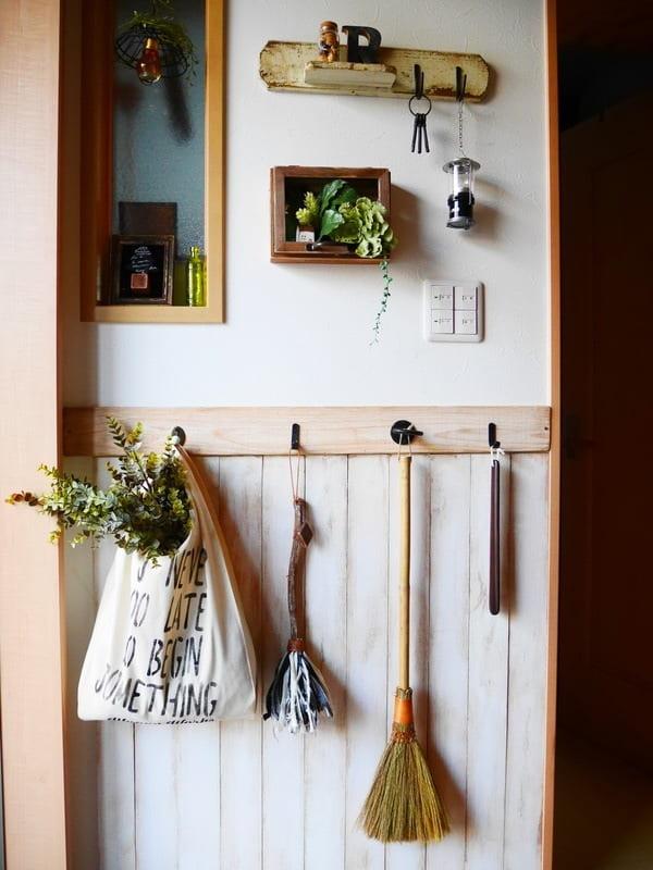 玄関の収納 DIY4