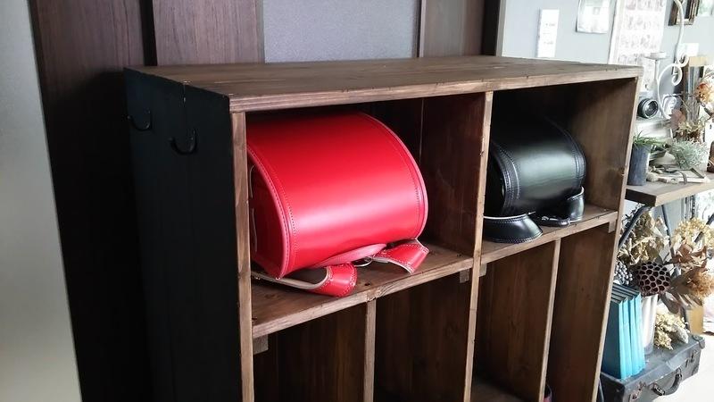 ランドセルの収納法 収納アイテムをDIY5