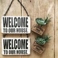 お客様の歓迎や家族へのメッセージを込めて♡ウェルカムボード&サインボード実例24選