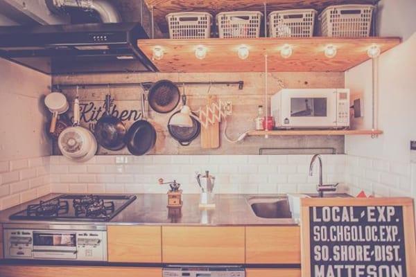 キッチン おしゃれ 照明 ライト4