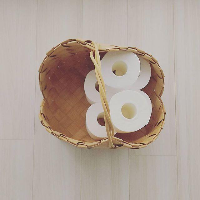 かごに収納するアイデア11