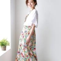 ロングスカートコーデ特集♡夏こそ取り入れたいおすすめの着こなし!