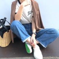 脱ぎ履き楽ちん♡《スリッポン》で作る夏のリラックススタイル!