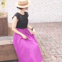 夏の人気アイテムは【GU】で!プチプラの大人可愛いスカート&ワンピースコーデ集
