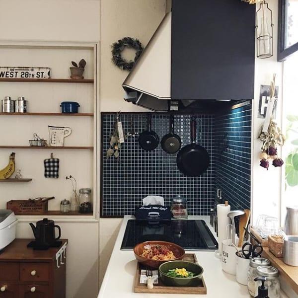 キッチン おしゃれ 壁紙4
