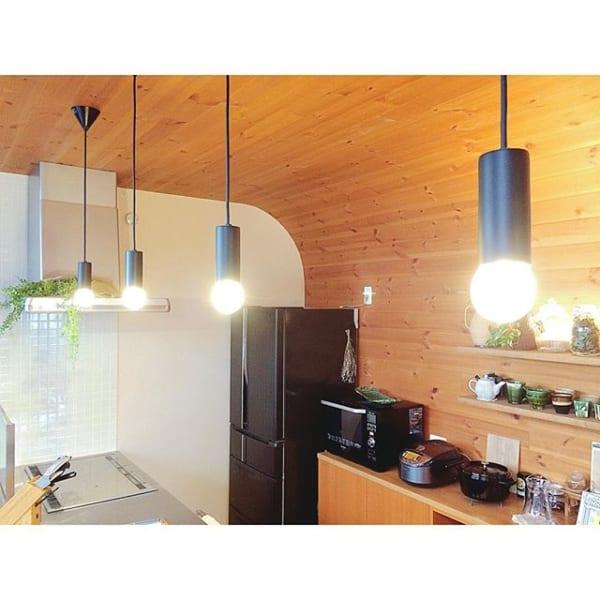 キッチン おしゃれ 照明 ライト7