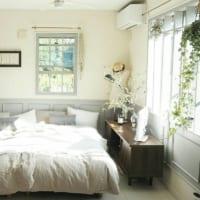 観葉植物で癒し効果アップ♡グリーンを取り入れた寝室の素敵なインテリア特集