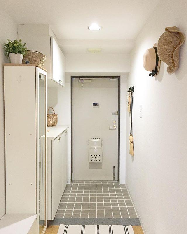 マンションの玄関インテリア2